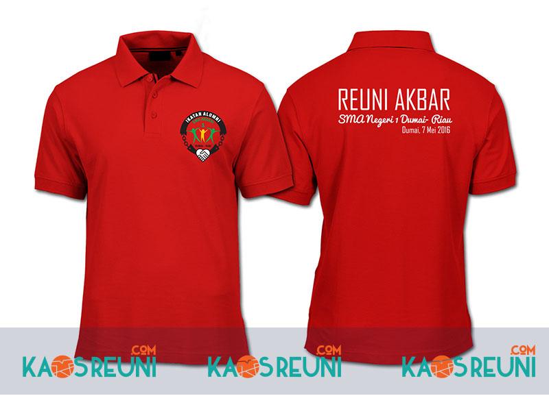 Kaos Reuni Akbar 2016 - SMA 1 Dumai